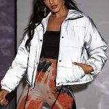 Зимняя светоотражающая куртка синтепон 300 размеры См Мл Длина куртки 60 см, рукав 63