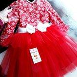 Детские новогодние платья от Miss M