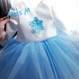 Новогодние платья снежинки