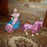 Карета лошадь і Barbi фірма Mattel бу