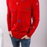 Стильный мужской свитшот 3 цвета s-m-l-xl