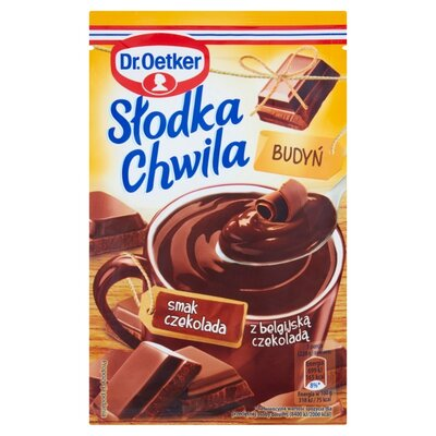 Dr.Oetker Пудинг с бельгийским шоколадом