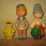 резиновые игрушки ссср девочка козак чукча