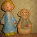 резиновые игрушки ссср дед внучка