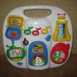 большая музыкальная панель для малышей