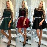 Платье очень красивое 42-44р. 3 цвета