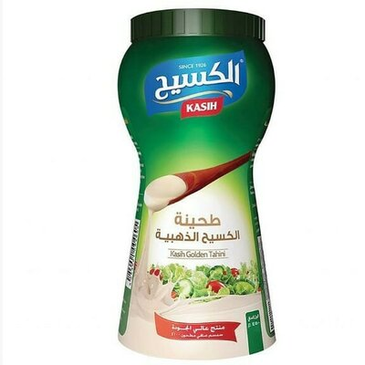 Тахини кунжутная паста фирмы Kasih, 450, 900 грамм 900 грамм Производитель - Kasih