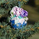 Новогодний шарик на ёлку,ручная работа,ёлочные игрушки
