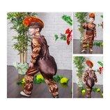 Новогодний костюм Муравей для мальчика, на 4-7 лет.