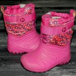 Merrell snow непромокаемые, невероятно теплые, стильные термо ботинки