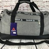Спортивная сумка reebok, дорожная сумка, сумка для тренировок. раз. 49 27 23см ксс16