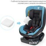 Продам новое детское автокресло El Camino ME 1010 INFANT BLUE SHADOW 0 /1 до 18кг спинка регулируетс