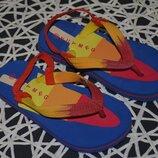эвро 10 фирменные флипы флип - флопы вьетнамки сандали босоножки мальчику
