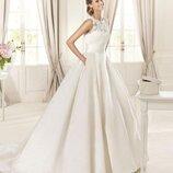 Шикарное свадебное платье известного бренда george brite.