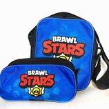 Сумочка сумка и пенал набор из двух единиц Brawl stars Бравл старс