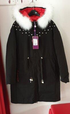 Тёплые зимние пальтишка Lusiming, био-пух