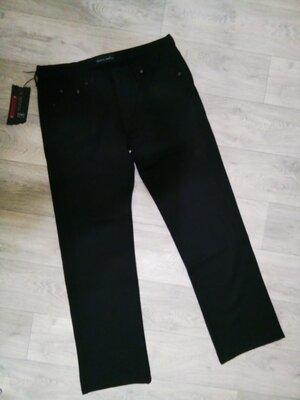Теплые мужские брюки джинсы, турция пот 46 см