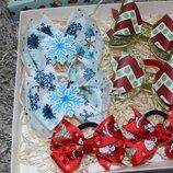 Подарочный нобор резинок новогодний