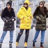 Красивая яркая куртка «Линда» пять расцветок