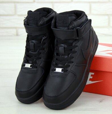 Зимние мужские кроссовки ботинки Nike Air Force Winter. С Мехом.