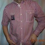 Брендовая стильная нарядная фирменная рубашка сорочка Redfield.л-хл 42