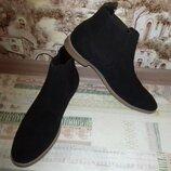 Ботинки кожаные деми Asos 33.5 см