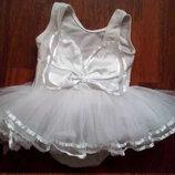 Карнавальный костюм Снежинка Купальник для Балеринки для девочки 1 год