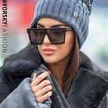 Очень теплая стильная шапка,5 цветов
