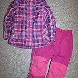 Зимний комплект теплые штаны флиси куртка