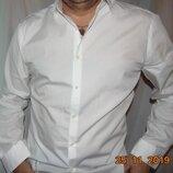 Стильная нарядная деловая брендовая рубашка Autograph.л 41 .