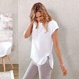 Легкая нежная двухсторонняя блуза Тсм Чибо. М