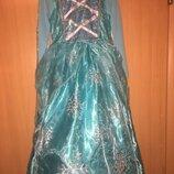 Карнавальный костюм карнавальное платье эльза на 5-6 лет