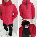 Куртка удлинённая мужская Зима 2215 Турция