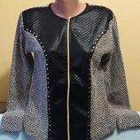 Шикарный Пиджак Жакет Кардиган Для Модницы Турция Р.48-50