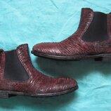 Moma 39 кожаные ботинки челси женские