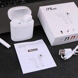 Беспроводные наушники I7s tws Bluetooth,с кейсом для заряда, аналог AirPod.