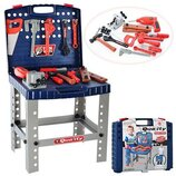 Набор инструментов с электродрелью, чемодан-стол 008-21