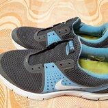Кроссовки фирменные серые Nike LunarSwift 4 р.40-25.5см.