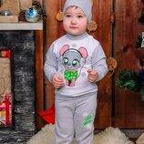 Новогодний костюм для малышей Мышонок