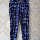 Размер М модные фирменные натуральные летние штаны