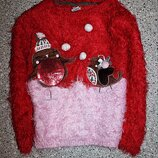 Свитшот травка джемпер свитер новогодний