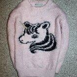 Джемпер свитшот травка свитерок единорог