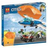 Конструктор Bela Lari 11208 Воздушная полиция арест парашютиста аналог Lego City 60208 , 242 дет