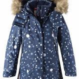 Зимняя куртка Reima Silda 6988 синяя размер от 92 до 140