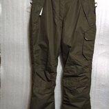 Мужские лыжные штаны хаки crivit, 54