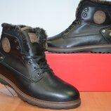 Зимние мужские ботинки на цигейке.Belvas.