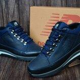 Мужские кожаные зимние ботинки,кроссовки New Balance