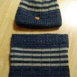 Зимовий набір шапка хомут