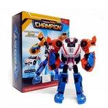 Робот трансформер тобот тритан чемпион мини высота 20 см tritan champion