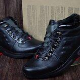 Мужские кожаные зимние ботинки,кроссовки Mida